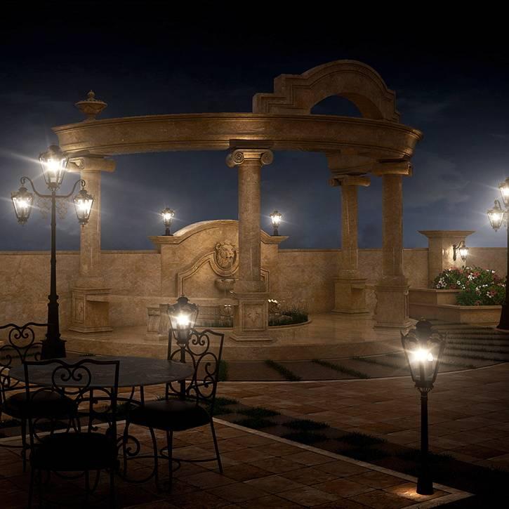 طراحی روف گاردن کلاسیک ساختمان امپریال پاسداران - گروه معماری بنیستا