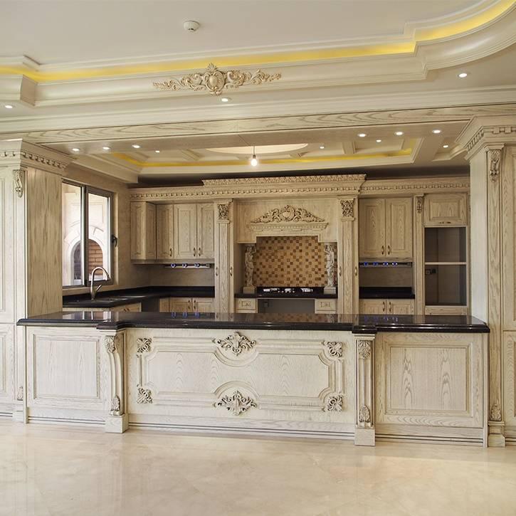 طراحی کابینت کلاسیک آشپزخانه
