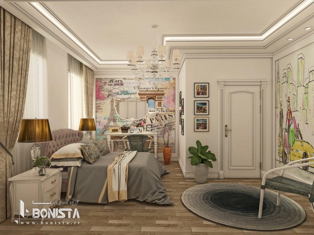 طراحی داخلی واحد مسکونی
